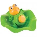 Прорезыватель-лягушка и ковш Happy Baby Funny frog